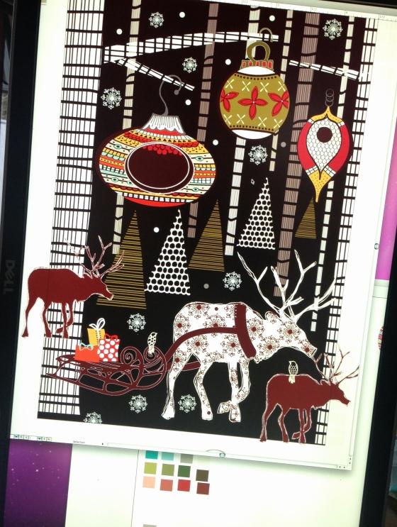 Christmas Inspiration ~ julie hamilton designs {artistically afflicted} blog