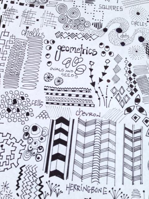 Inspiration - geometric {artistically afflicted blog}