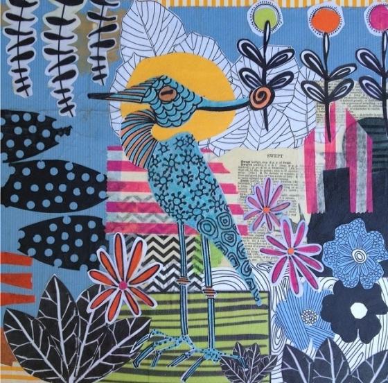 Deborah Velasquez - artist on the {artistically afflicted blog}