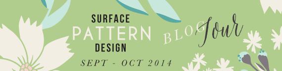 BlogHop - {artistically afflicted blog} surface pattern design, inspiration,