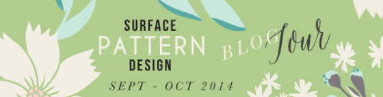 BlogHop - {artistically afflicted blog} surface pattern design, inspiration,