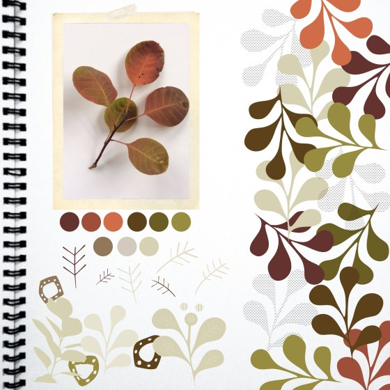 Bayberry - Sketchbook by Julie Hamilton Designs {artistically afflicted blog}