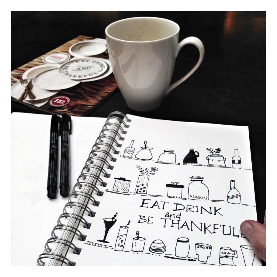 Be Thankfull - Julie Hamilton {artistically afflicted blog}