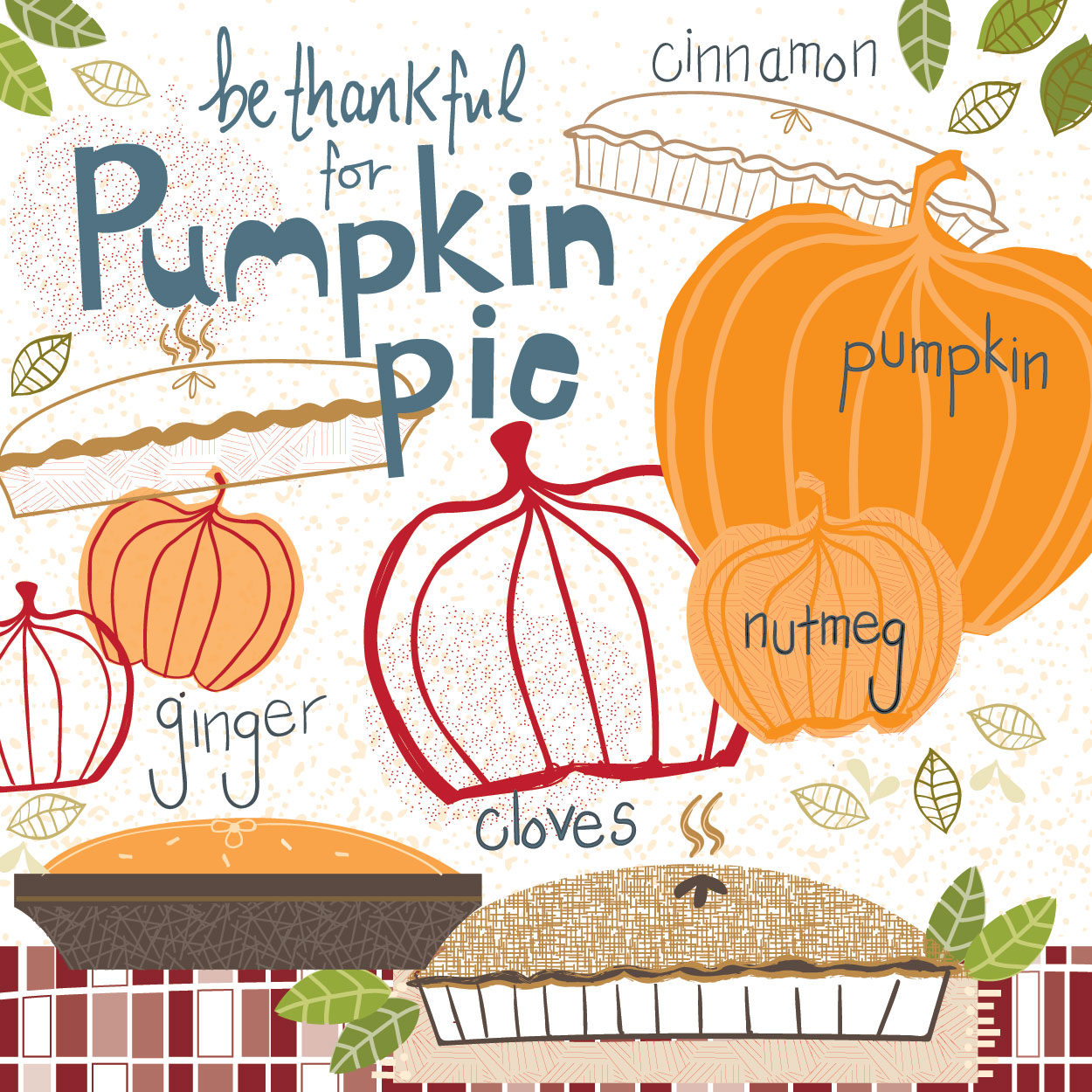 Pumpkin Pie -  Julie Hamilton {artistically afflicted blog}
