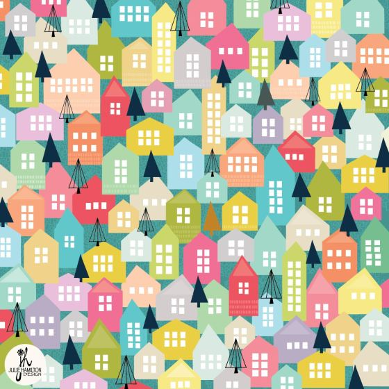 pastel houses, illustration, house, drawing