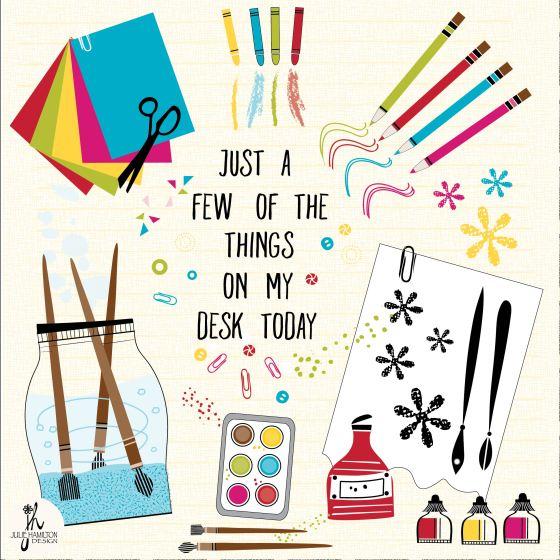 illustration,art supplies, paint, paper,ink