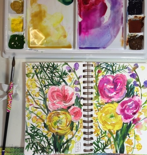 Artist/Designer Marissa Swinghammer - {artistically afflicted blog} #shareyoursketch