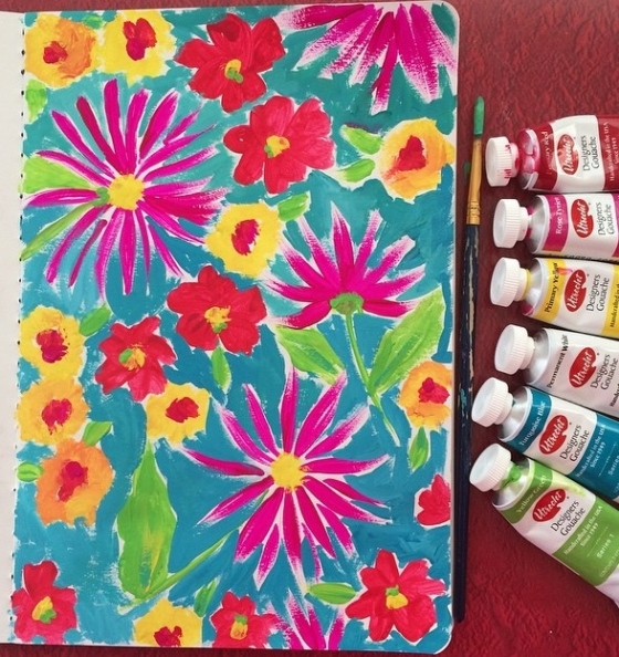 Artist/Designer Amanda McGee - {artistically afflicted blog} #shareyoursketch