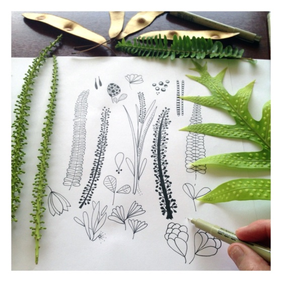 Tropical Foliage - {artistically afflicted blog }