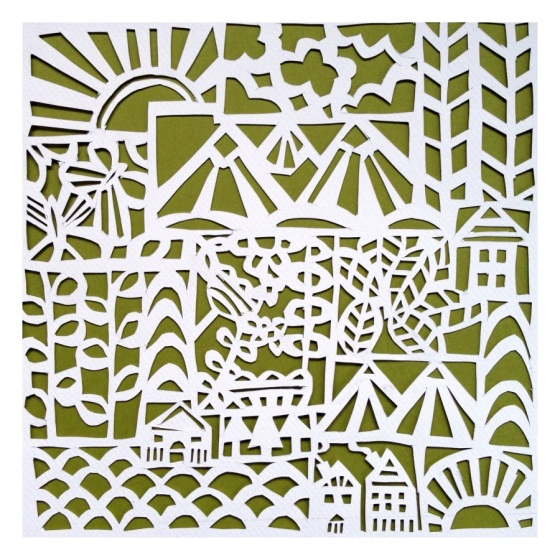 PaperCut Art  - Julie Hamilton Designs {artistically afflicted blog}