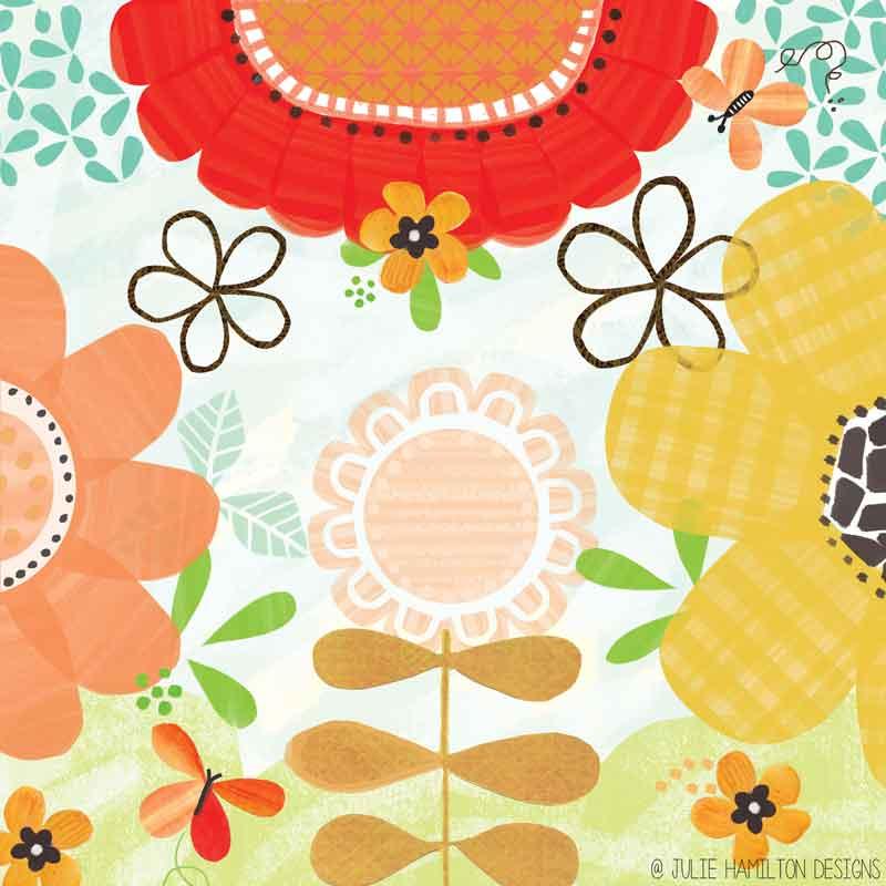 In my garden - Julie Hamilton Designs {artistically afflicted blog}