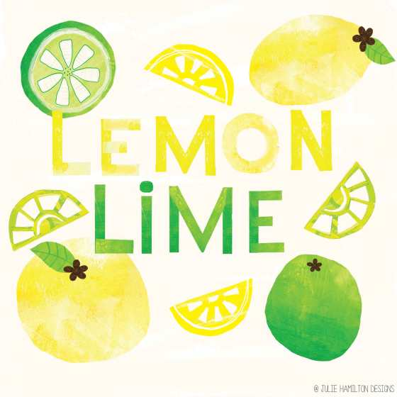 LemonLime -  Julie Hamilton Designs {artistically afflicted blog}
