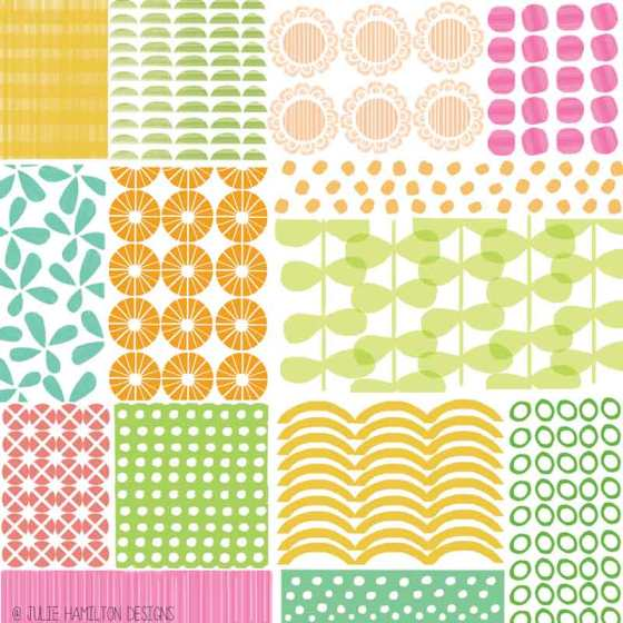 Summer Quilt - Julie Hamilton Designs {artistically afflicted blog}