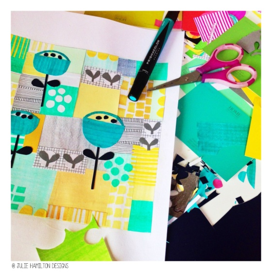 Sketchbook Explorations - Julie Hamilton Designs {artistically afflicted blog}