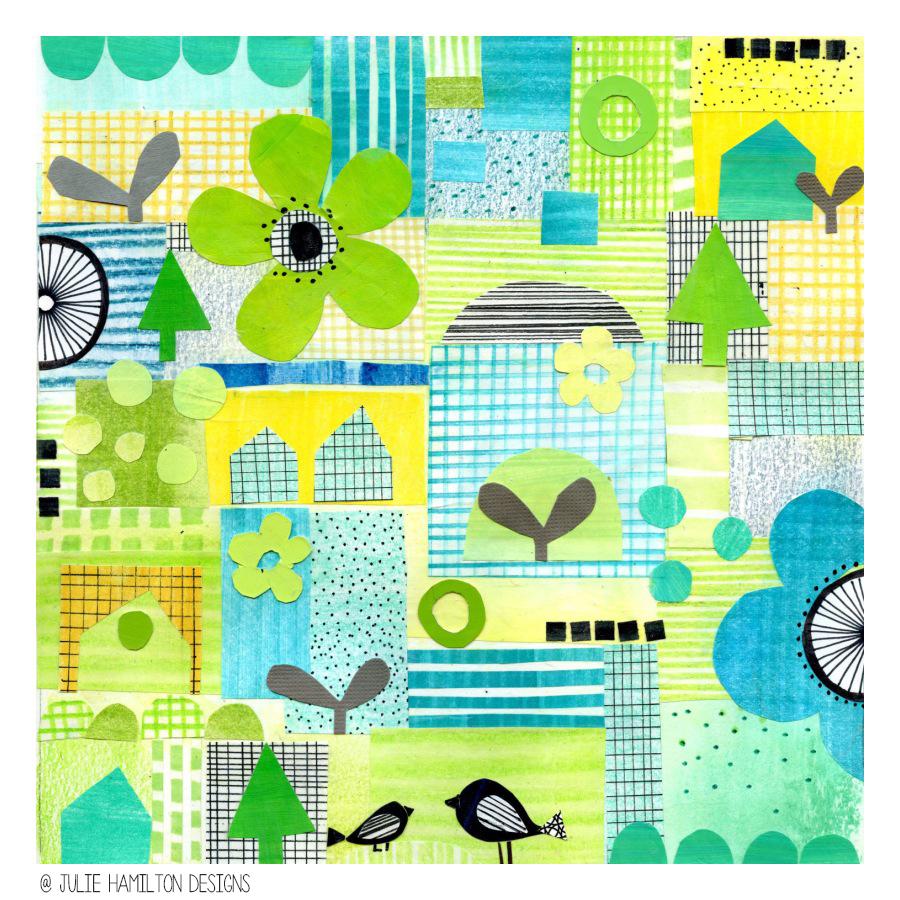 sketchbook explorations - Julie Hamilton Designs {artistically afflicted blog}