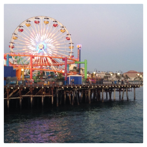 Santa Monica Pier - Julie Hamilton Designs {artistically afflicted blog}