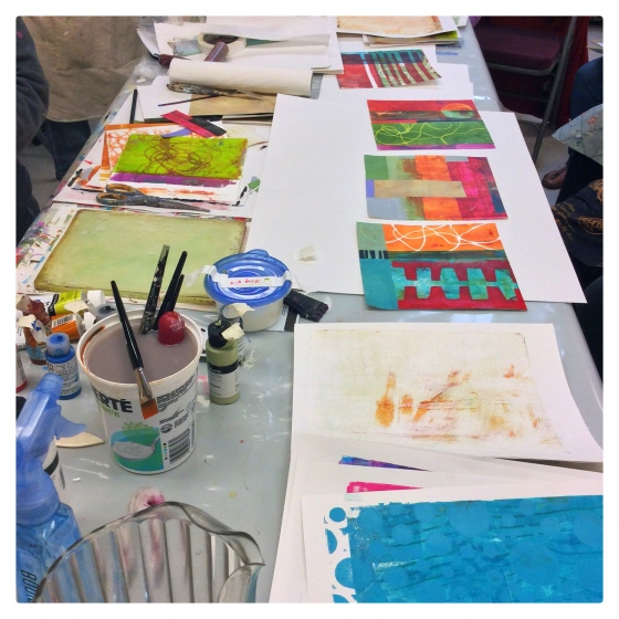Big Fat Art with Jane Davies - Julie Hamilton Creative {artistically afflicted blog}