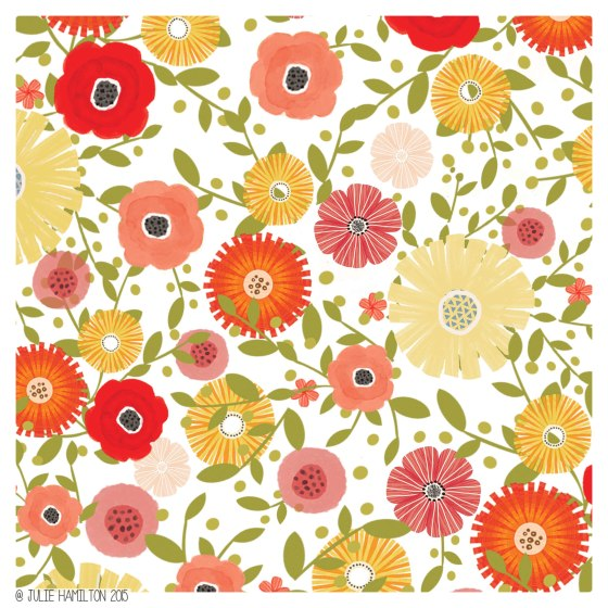 Flowers in Fall by Julie Hamilton Creative {artistically afflicted blog}