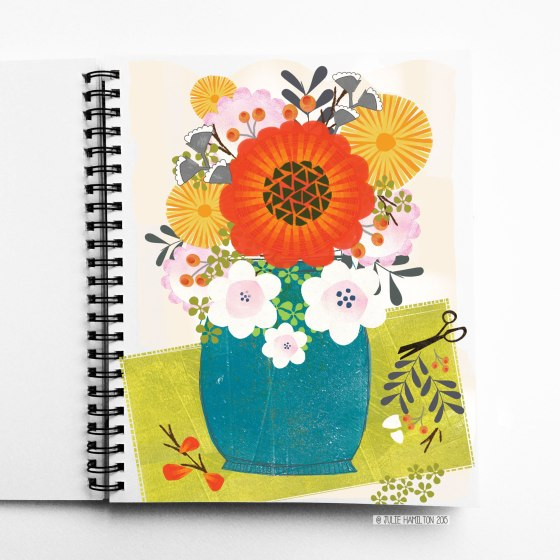 Flowers for Monday by Julie Hamilton Creative {artistically afflicted blog}