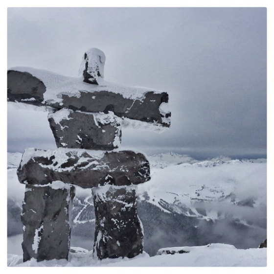 Whistler Inuksuk {artistically afflicted blog}