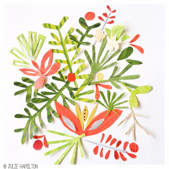 Tropical Goodness - Julie Hamilton Creative {artistically afflicted blog}